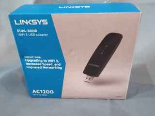 linksys   AC1200 Dual Band USB 3 0 Adapter