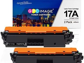 GPC Image Compatible Toner Cartridge Replacement for HP 17A CF217A Toner to use with laserjet Pro M102w M130nw M130fw M130fn M102a M130a laserjet Pro MFP M130 M102 Series Printer  2 Black