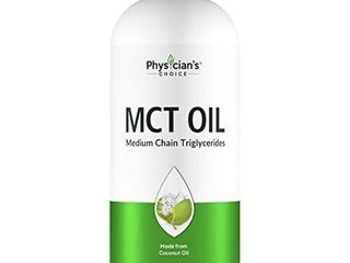 Dr Approved MCT Oil  100  Pure  2 Months Supply 32 OZ  Keto Friendly  Made from Coconut Oil  Brain and Body Fuel  Vegan  Gluten Free  Non GMO  Unflavored liquid