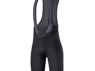 Santic Cycling Bike Bib Shorts Men Padded Tights Bicycle Pants Excellent Performance Black XXl Move ON