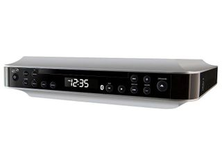ilive   Bluetooth Under Cabinet Music System   Black