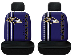 Fremont Die NFl Baltimore Ravens Rally Seat Cover  Universal Fit  Universal Fit