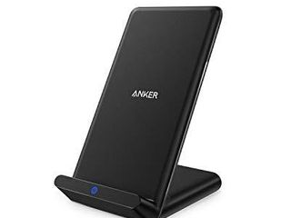 Anker Wireless Charger  PowerPort Wireless 5 Stand  Qi Certified  Compatible iPhone 11  11 Pro  11 Pro Max  XR  XS Max  XS  X  8  8 Plus  Samsung Galaxy S20 S10 S9 S8  Note 10 Note 9  No AC Adapter