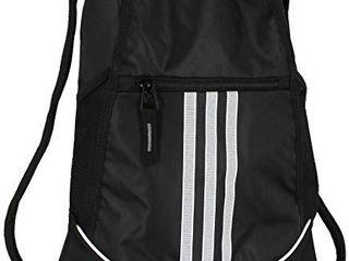 adidas Unisex Alliance II Sackpack  Black  One Size