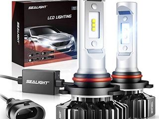 SEAlIGHT 9005 HB3 lED High Beam Headlight Bulb 12000lM 9145 9140 H10 Fog light Bulbs Xenon White 6000K Non polarity