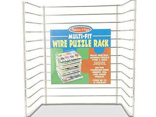 Melissa   Doug Multi Fit Wire Puzzle Rack
