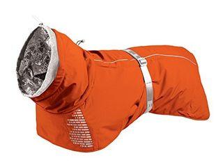 Hurtta Extreme Warmer Dog Winter Jacket  Orange  26 in