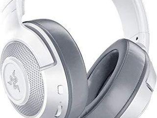 Razer Kraken X Ultralight Gaming Headset  7 1 Surround Sound Capable   for PC  Xbox  PS4  Nintendo Switch   White  Renewed