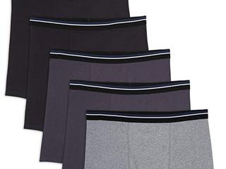 Essentials Men s Big   Tall 5 pack  Black charcoal heather Gray  Size 5 0