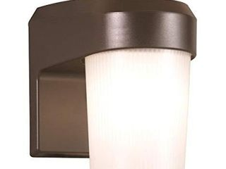 All PRO FE13PC  13W Fluorescent Entry light With Photo Control  Bronze