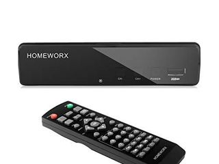 Mediasonic ATSC Digital Converter Box with Recording   Media Player   TV Tuner Function  HW130STB