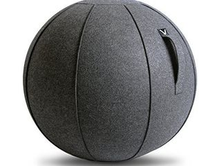 Vivora luno   Sitting Ball Chair for Office  Dorm  and Home  lightweight Self Standing Ergonomic Posture Activating Exercise Ball Solution with Handle   Cover  Classroom   Yoga