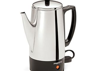 Presto 02822 6 Cup Stainless Steel Coffee Percolator