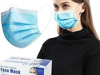 Face Masks Blue  Pack of 50 PCS