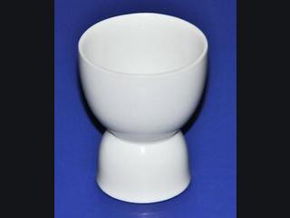 White Ceramic Egg Cups Set Of 8 2 Sizes