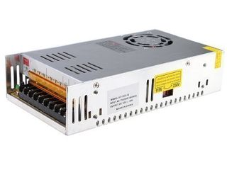 MENZO 12v 30a Dc Universal Regulated Switching Power Supply 360w for CCTV  Radio  Computer Project