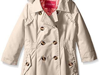 lONDON FOG Girls  little lightweight Trench Dress Coat Jacket  Khaki  4