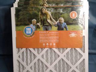 TRUE BlUE Family Protection MERV 8 Air Filter  set of 4