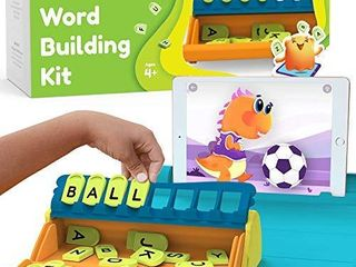 Plugo letters by PlayShifu   Word Building with Phonics  Stories  Puzzles   5 10 Years Educational STEM Toy   Interactive Vocabulary Games   Boys   Girls Gift  App Based