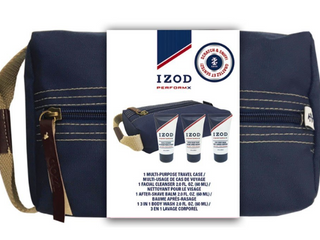 IZOD Advantage Performance 4 PC Travel Size Kit For MEN