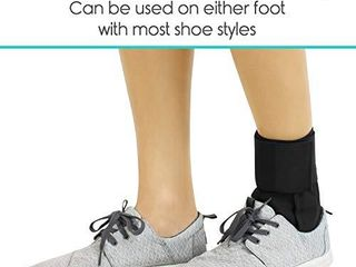 Vive lace Up Ankle Brace   Men  Women Foot Support Stabilizer Compression Sleeve   Sprained Adjustable leg Splint   Sprain Rolled Immobilizer Wrap Guard for Running  Volleyball  Basketball  Soccer  S