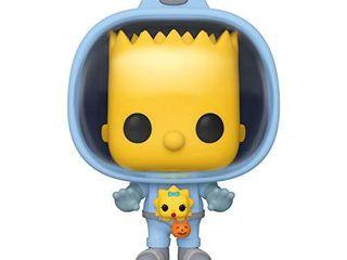 Funko Pop  Animation  Simpsons   Bart w Chestburster Maggie  Multicolor  3 75   50138
