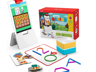 Osmo   little Genius Starter Kit for Fire Tablet   Early Math Adventure   6 Educational Games   Ages 3 5   Counting  Shapes   Phonics   STEM Toy