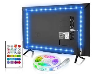 Tzumi led Tv led Strip 65  W  Remote Control For Tv Pc Moonlight Mood