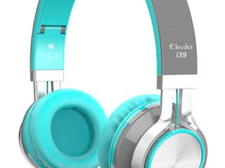 ElCEDER i39  BlACK NAD BlUE HEADPHONES