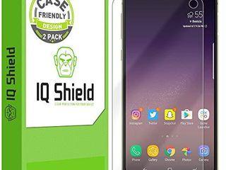 IQ Shield Screen Protector Compatible with Galaxy S10e 5 8   2 Pack Case Friendly  Anti Bubble Clear Film