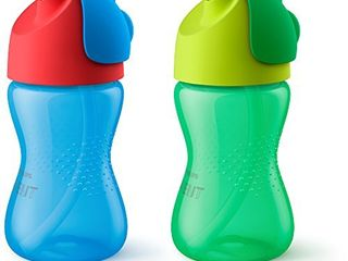 Philips Avent My Bendy Straw Cup  10 Oz  2 Pack
