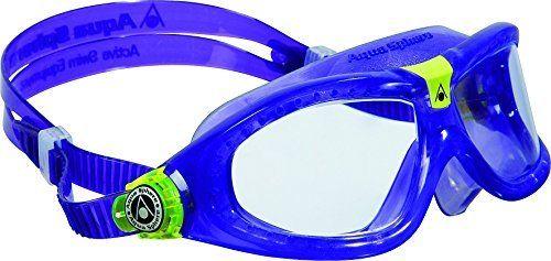 Aqua Sphere Seal Kid 2 Swim Goggle  Clear lens   Violet