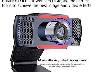 Full HD 1080p Webcam with microphone  Widescreen Streaming Video Calling and Recording  1080p Camera  Desktop or laptop Webcam
