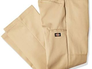 Dickies Men s loose Fit Double Knee Twill Work Pant  Khaki  36W x 34l