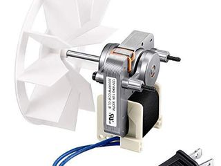 Bathroom Vent Fan Motor and Blower Wheel Replacement Electric Motors Kit Compatible with Nutone Broan 50CFM 120V