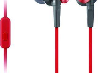 Sony MDR XB50AP R Extra Bass Earbud Headset