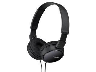 Sony   ZX Series Wired On Ear Headphones   Black