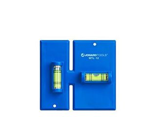 Jonard Tools WTl 12  Wall Box Template and level for Old Work Electrical Boxes Blue