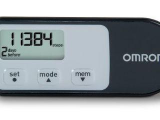 Omron HJ 321 Tri Axis Alvita Pedometer  Black