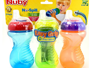 Set of 3 Sippy Cups