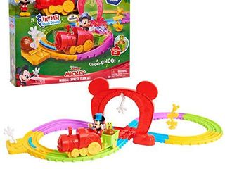 Mickey Mouse Disneys Mickeys Musical Express Train Set