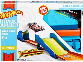 Hot Wheels Track Builder long Jump Stunt Pack  Multicolor