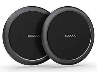 Wireless Charger 15W Max Fast 2 Pack  Wireless Charging Pad for iPhone Apple Products  SOQOOl Charging pad for Multiple Devices lG Pixel AirPods Pro  No QC Adapter