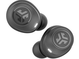 Jlab Audio JBuds Air True Wireless Signature Bluetooth Earbuds   Charging Case   IP55 Sweat Resistance   Bluetooth 5 0 Connection   3 EQ Sound Settings  Jlab Signature  Balanced  Bass Boost   Black
