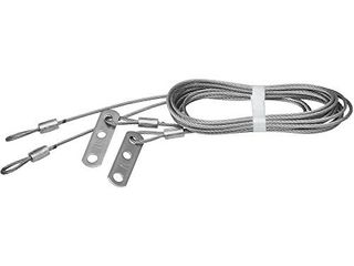 National Hardware N280 388 V7619 Safety Cable for Extension Springs in Galvanized  2 pack 8 8  x 1 8