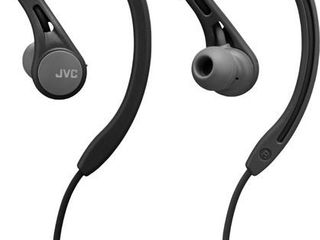 JVC   Ear Clip Bluetooth Wireless Sport Headphones   Black