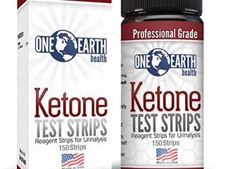 Ketone Strips  USA Made  150 Count  Accurate Ketosis Urine Test Strips For Keto Diet and Ketogenic Measurement  lose Weight With Confidence