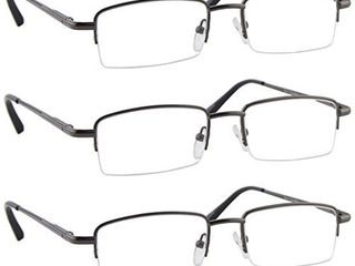 Reading Glasses   9509 HP  VP3 Gunmetal 1 50