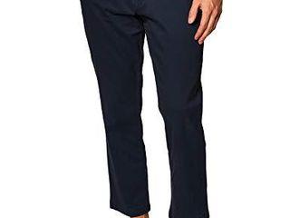 Amazon Essentials Men s Slim Fit Casual Stretch Khaki  Navy  34W x 29l