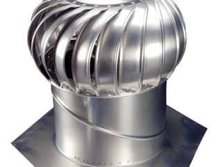 lOMANCO Whirlybird BIB14 Turbine Ventilator  110 mph  Aluminum
